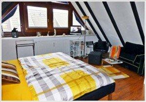 moderne 4 Zimmer Ferienwohnung auf Sylt mit 3 Schlafzimmern für 4 Personen bis 5 Personen in Westerland
