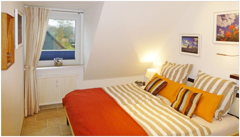 Günstige Ferienwohnung auf Sylt www.sylter-deichwiesen.de mit 3 Schlafzimmern für 4 Personen