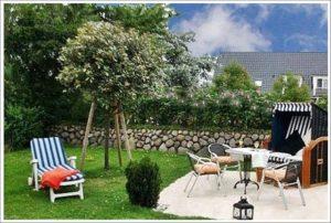 Ferienwohnung Sylt Terrasse www.sylter-deichwiesen.de