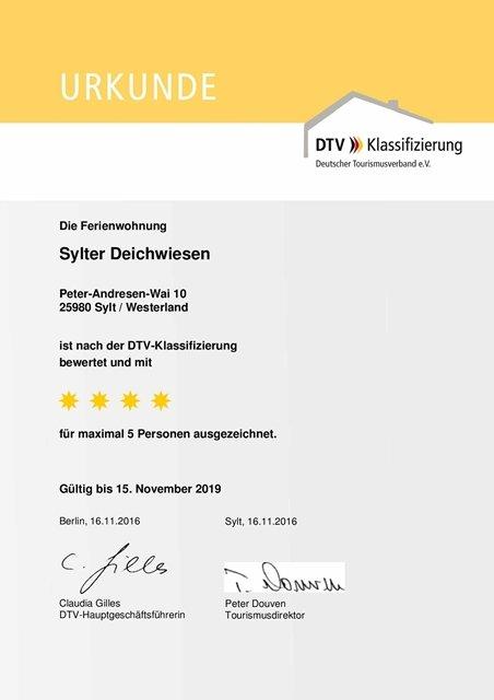 4-Sterne-Ferienwohnung auf Sylt