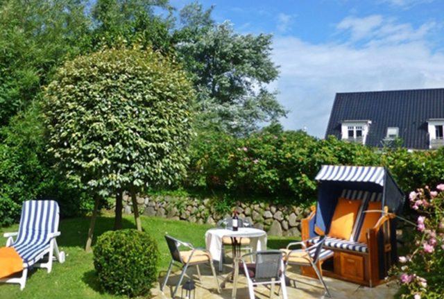 Ferienwohnung mit Terrasse auf Sylt www.sylter-deichwiesen.de