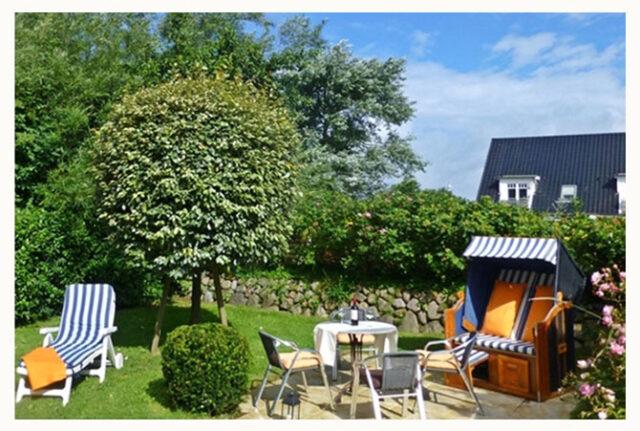 Ferienwohnung auf Sylt mit Garten www.sylter-deichwiesen.de