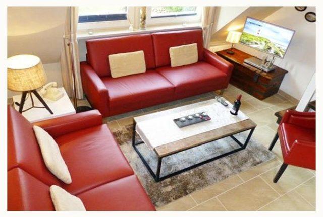 fereienwohnung auf sylt in westerland preiswert buchen mit 3 schlafzimmern und garten mit terrasse für 5 personen