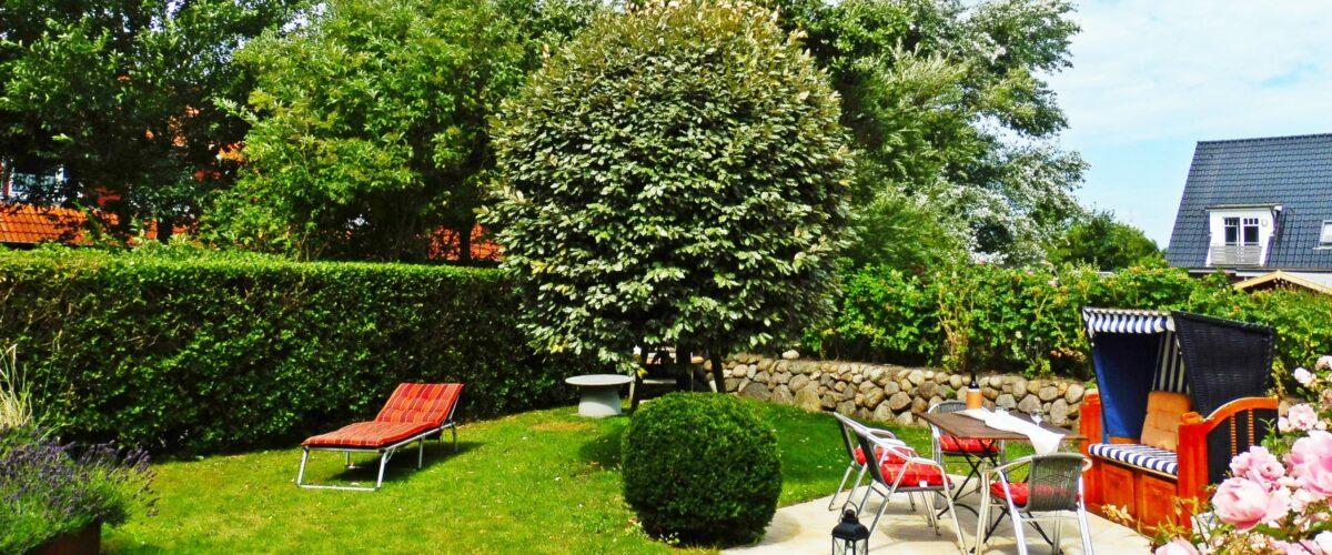 Ferienwohnung auf Sylt günstig buchen von privat in Westerland mit Garten und Terrasse