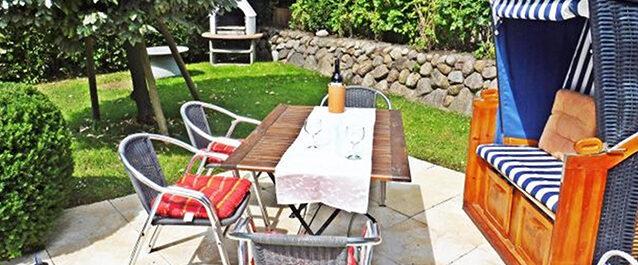 Ferienwohnung auf Sylt mit Terrasse und Garten von privat günstig buchen in Westerland