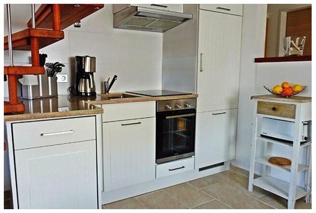 günstige Ferienwohnung auf Sylt 3 Schlafzimmer ideal für 4 Personen oder 5 Personen in ruhiger Lage in Westerland mit Terrasse