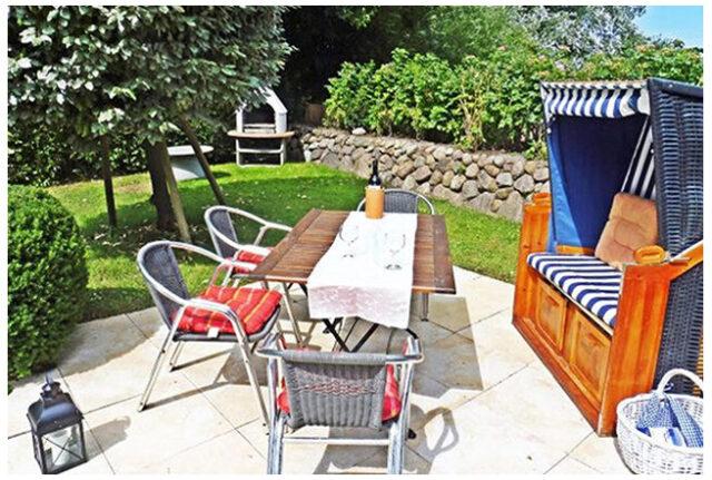 Ferienwohnung auf Sylt n Westerland mit Terrasse und Garten günstig von privat buchbar
